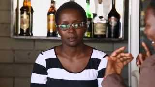 Bartender not therapist. Kansiime Anne. African co