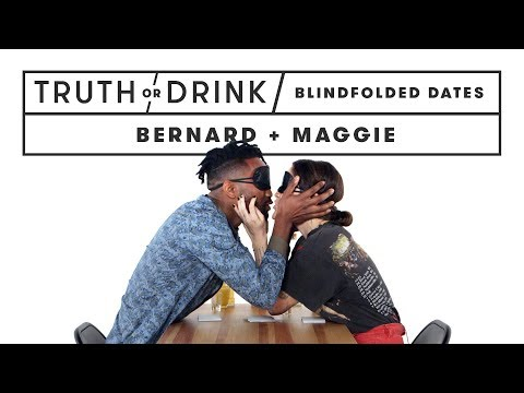 Blind(folded) Date (Bernard & Maggie) | Truth or Drink | Cut