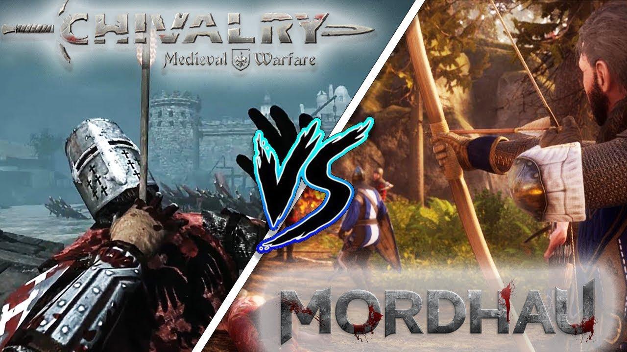 MORDHAU Vs CHIVALRY - The BEST MEDIEVAL FPS