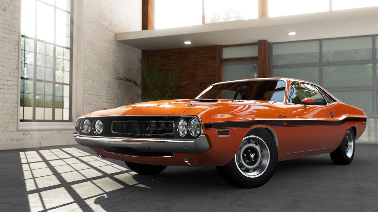 Forza 5 1970 Dodge Challenger R T At Top Gear Autovista