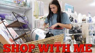 BEDROOMS DECOR HAUL SHOP WITH ME! WE HAVE DIFFERENT RULES FOR THE VIRUS! EMMA AND ELLIE