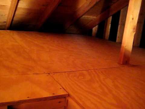 Finished Attic Flooring Youtube
