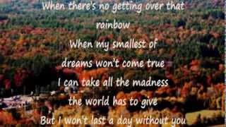 I Won't Last A Day Without You (Original Master Karaoke)