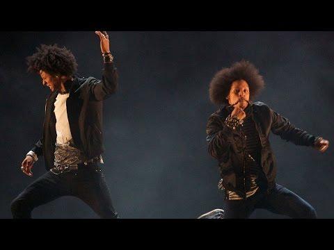 Les Twins Breakin' Convention Hip Hop Dance Festival Showcase 2015 OFFICIAL footage (HD & HQ audio)