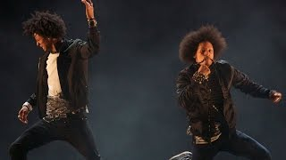 Les Twins Breakin' Convention Hip Hop Dance Festival Showcase 2015 OFFICIAL footage