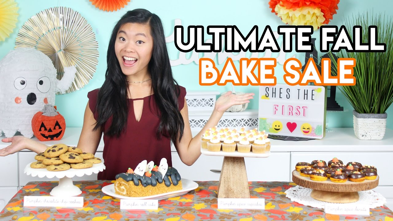 How to Create the ULTIMATE Fall Bake Sale Donuts, Cupcakes ...