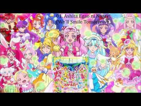 Precure Super Stars! OP  Ashita Egao ni Naare FULL