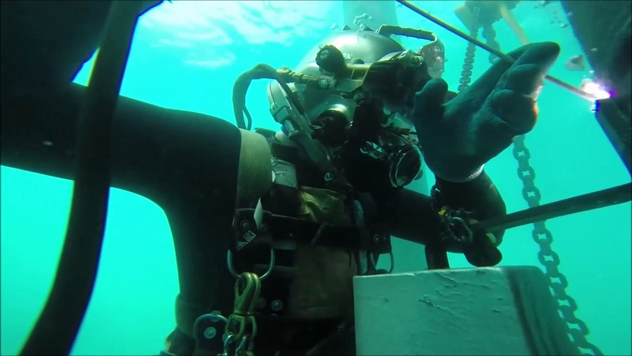 Awesome Underwater Welding Compilation Oil Rigs Jobs Youtube