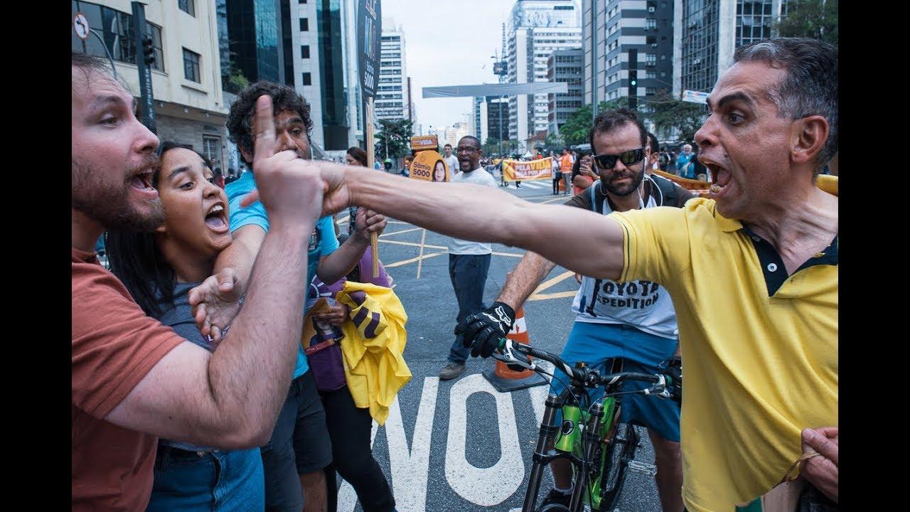 Em passeata pró-Bolsonaro, PM paulista escolhe seu lado - Ponte Jornalismo