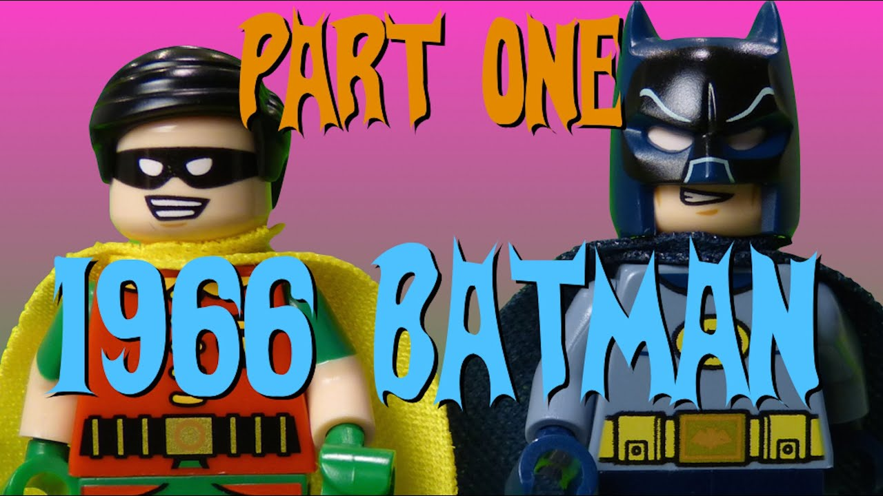 LEGO 1960s Batman - Part 1 Full Episode - CheepJokes Stop Motion The Lego Batman Movie sdcc 2016