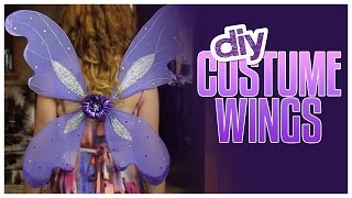 DIY Costume Wings Made From Hangers! - Do It, Gurl
