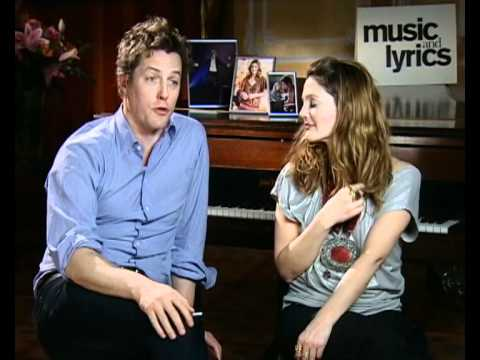 Drew Barrymore and Hugh Grant on enjoying Music and Lyrics filming
