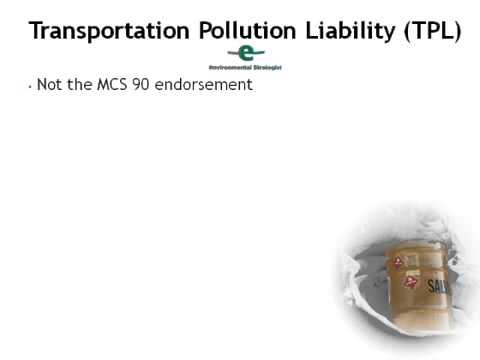 Transportation Pollution Liability