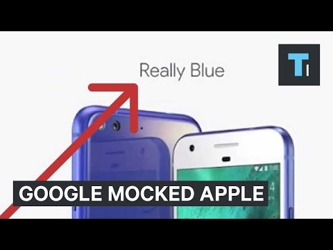 Thumbnail: Google repeatedly mocked Apple at its October 2016 event