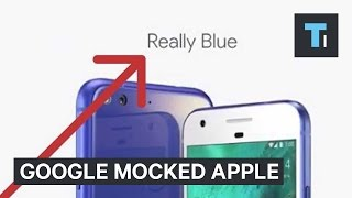 Google repeatedly mocked Apple at its October 2016 event