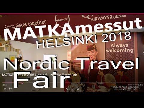 Matkamessut 2018 Helsinki - Nordic Travel Fair in Finland - Messukeskus Helsinki