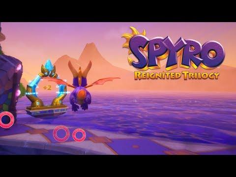 Spyro Reignited Trilogy - Spyro 2: Ripto's Rage! 100% Walkthrough Part 7 - Ocean Speedway