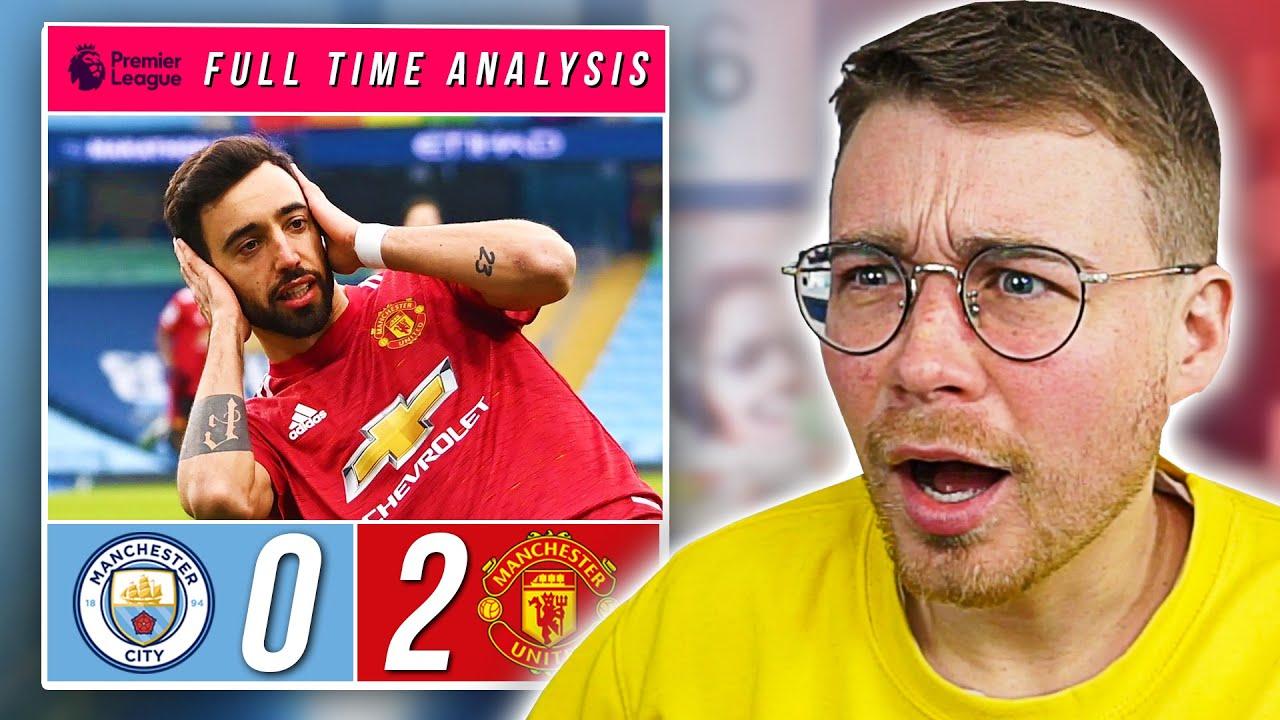 MAN CITY 0-2 MAN UNITED | TACTICAL ANALYSIS