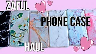 AFFORDABLE IPHONE CASE HAUL | Zaful Review