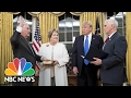Rex Tillerson Sworn In As Secretary Of State | NBC News