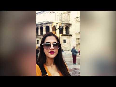 Masterchef India Shipra Khanna At Valencia Gothic Church