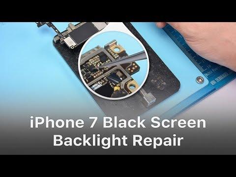 iPhone 7 Black Screen/ No Display Backlight Repair