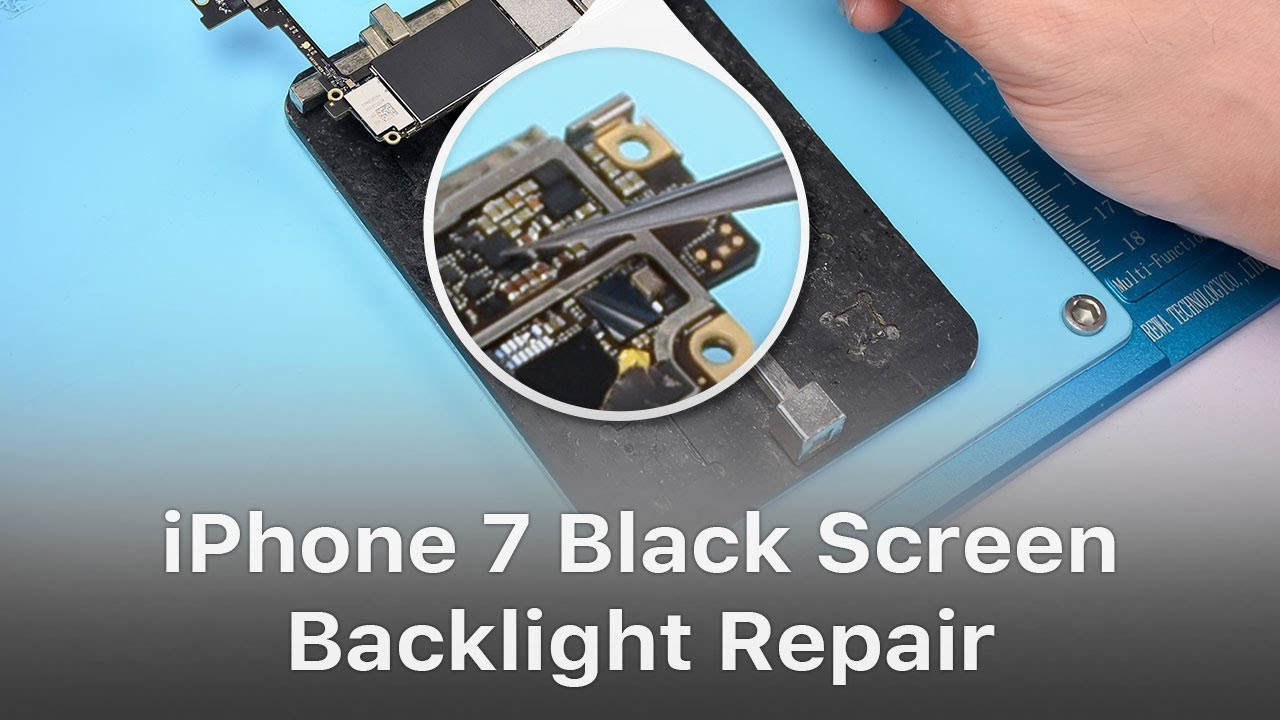 lowest price 1a61b 885a5 iPhone 7 Black Screen/ No Display Backlight Repair