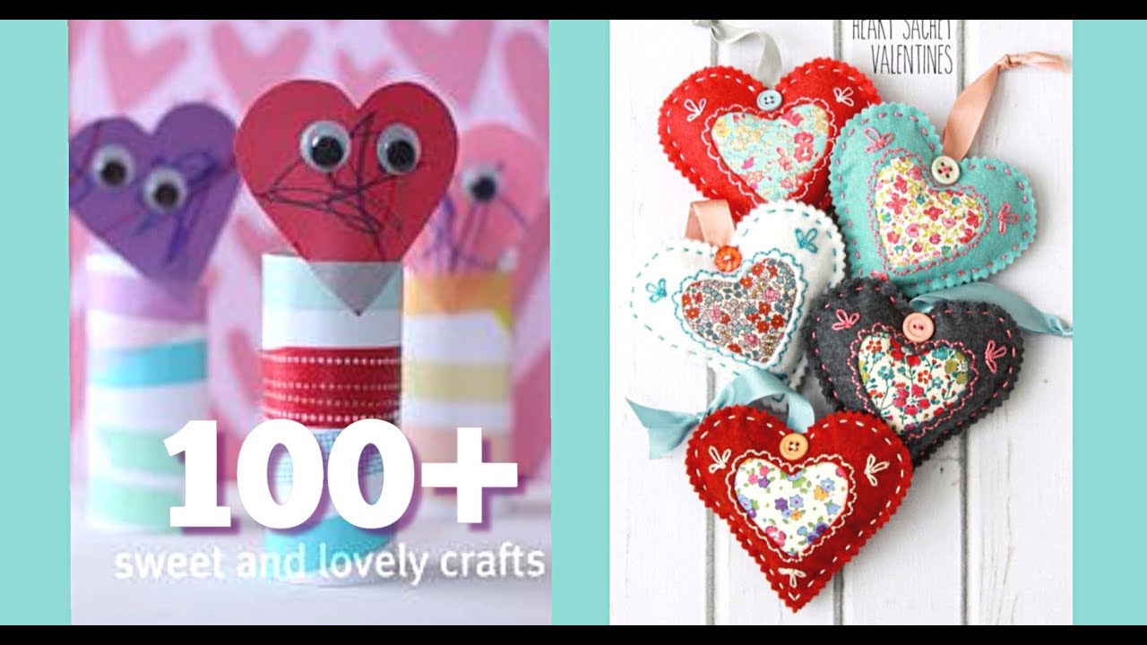 New 100 Valentine Diy Craft Ideas Simple Sweet Craft Projects