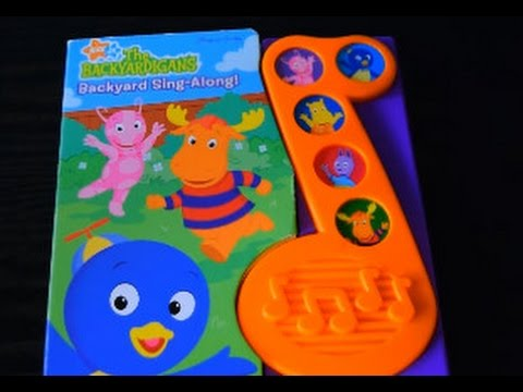 The Backyardigans Backyard SING-ALONG Nick Jr Play-Song Story