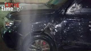 В Днепре из гранатомета обстреляли бронированный внедорожник с грузинским «авторитетом» Кахой внутри