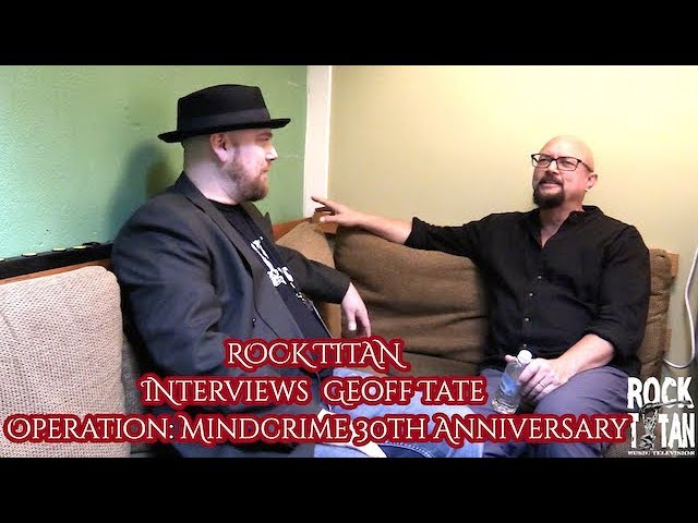 Geoff Tate says Queensrÿche was opening act for 20 years!