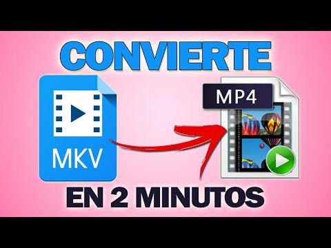 Cómo Convertir MKV a MP4 Fácilmente sin Perder Calidad (2020)