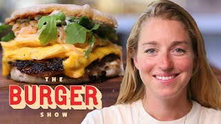 Molly Baz Makes the Perfect Breakfast Burger  The Burger Show