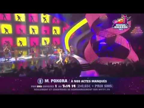 m pokora- a nos actes manques _live 2_12 - nrj music ...