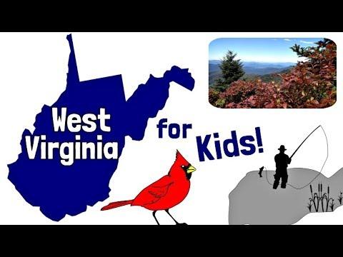 West Virginia for Kids | US States Learning Video