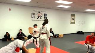 Black Belt Test - November 2014