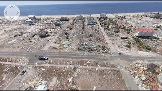 360°: Mexico Beach, FL aerial damage survey after Hurricane Michael
