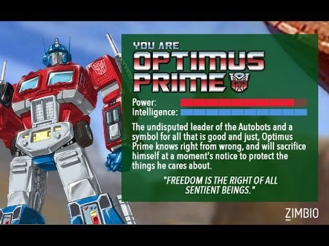 What Transformer Are You Quiz!!! - YouTube