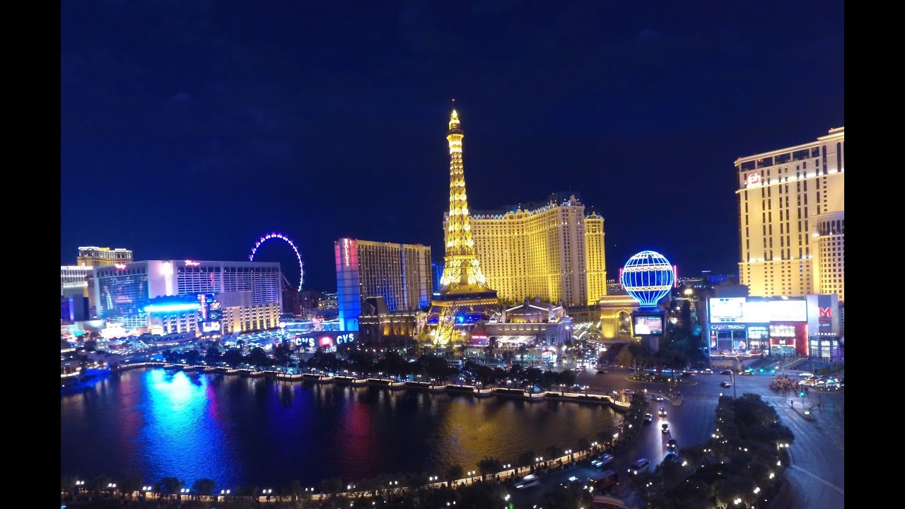 Las Vegas By Night Las Vegas De Noche As Vegas Pola: Drone Tour Of Las Vegas Strip