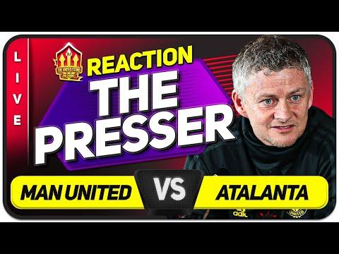 SOLSKJAER Press Conference Reaction! MANCHESTER UNITED vs ATALANTA