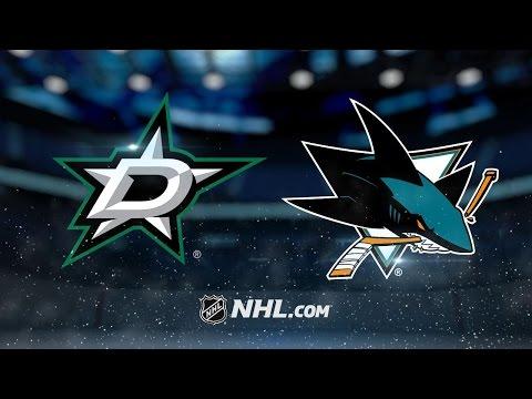 Pavelski, Dell lead Sharks to 5-1 win vs. Stars
