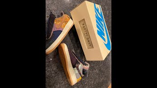 Travis Scott Cactus Jack unboxing detailed review worth the resell prices? How should I wear them?
