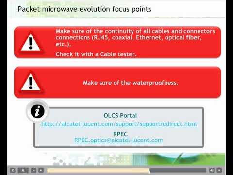 Nokia Alcatel MW Link 9500 || TWT18014WS01 V1 Introduction