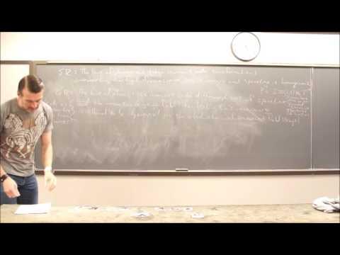 General Relativity Topic 11: Manifolds