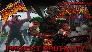 "Project Brutality with MAP26 ""Fear"" from Scythe WAD [720p 60fps]"