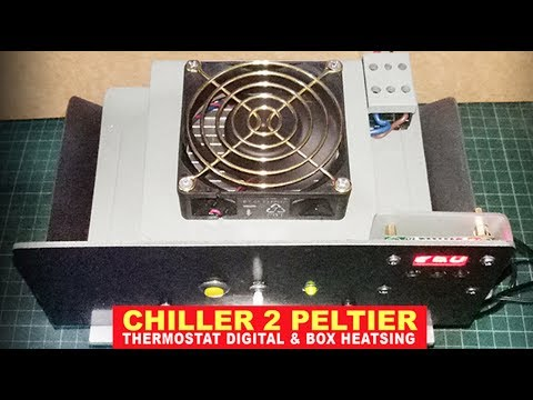 CHILLER PELTIER -Dual Thermoelectric & Thermostat Digital