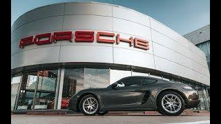 Porsche 718 Cayman Обзор и тест драйв в Порше Центр Челябинск