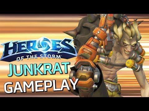 Heroes of the Storm - Junkrat Gameplay - Absolute Mayhem!