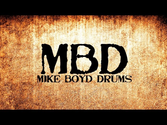 Mike Boyd Drums - Video Shoot w/ Bob Carmichael - Side 3 Studios