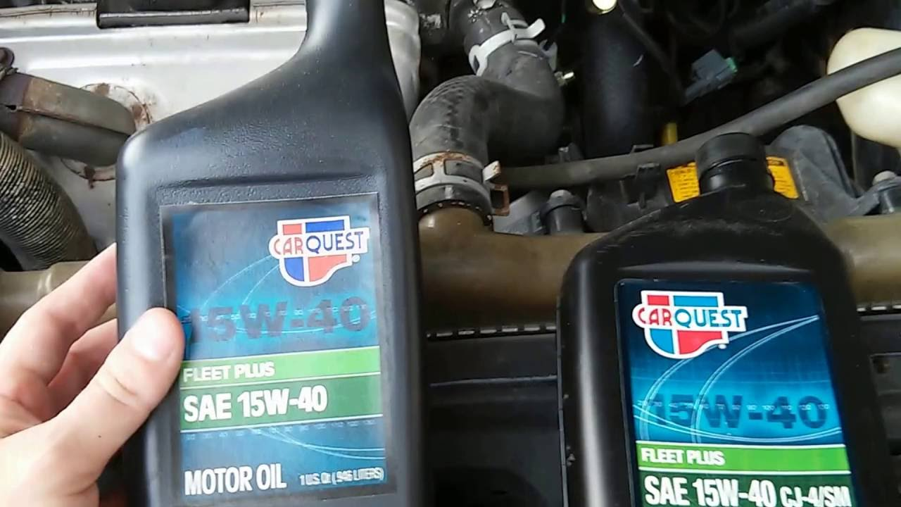 Identifying carquest motor oils youtube for Where can i get rid of used motor oil